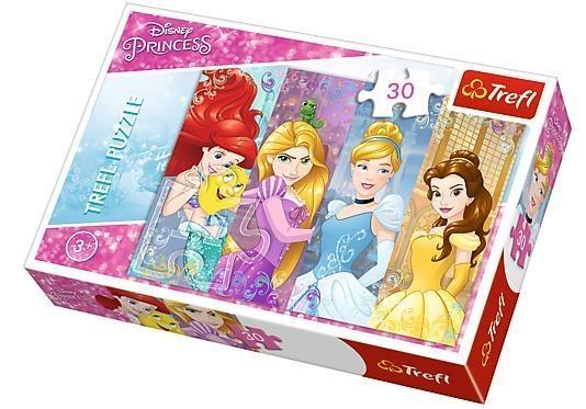 Puzzle 30: Bajkowe księżniczki (18205)