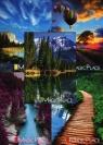 Zeszyt A5 Top-2000 w kratkę 96 kartek Magic Place mix