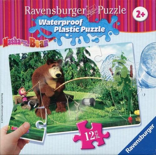 Puzzle Masza i Niedźwiedź 12 elementów (056057)