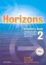 Horizons 2 Student's Book. Podręcznik dla liceum ogólnokształcącego, liceum Radley Paul, Simons Daniela, Campbell Colin, Wieruszewska Małgorzata
