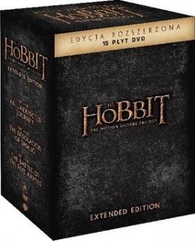 Hobbit: Trylogia - Wydanie rozszerzone (15 DVD)
