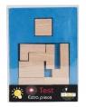 IQ-Test Dodatkowy Element Kwadrat Mały 3 niebieski 17105
