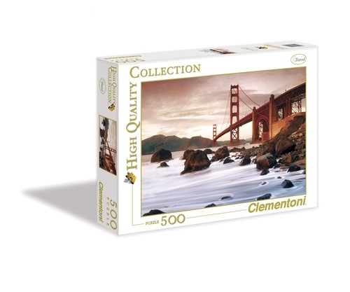 Puzzle 500 High Quality Collection San Francisco 	 (30105)