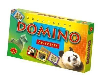 Domino obrazkowe - zwierzęta (0205)