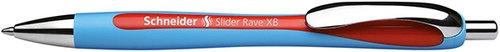 Długopis automatyczny Schneider Slider Rave XB czerwony (132502)