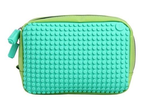 Kosmetyczka Pixelbags wodoodporna zielono-turkusowa  (WY-B003-JN)