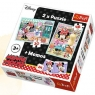 Hobby Minnie - puzzle 2w1 + memo (90605)