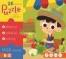 Puzzle Owoce i warzywa 20 elementów