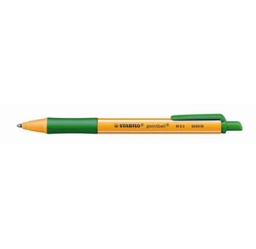 Długopis Stabilo Pointball zielony