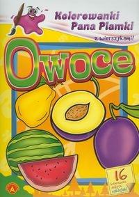 Kolorowanki Pana Plamki z wierszykami Owoce (5905)