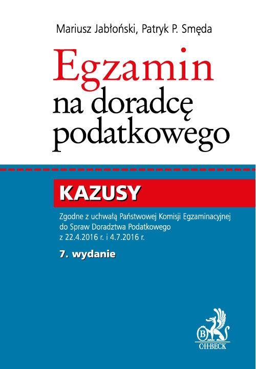 Egzamin na doradcę podatkowego Kazusy Jabłoński Mariusz, Smęda Patryk P.