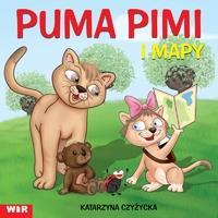 Puma Pimi i mapy - cz.1 sylaby ze spółgł. P i M Katarzyna Czyżycka