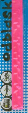 Odblaski Opaska odblaskowa różowa (FJ-SW-1-1P)