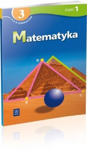 Matematyka 3 podręcznik z ćwiczeniami część 1 Siwek Helena, Bereźnicka Małgorzata, Siwek Agnieszka