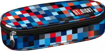 Piórnik saszetka Stright PC-01 Pixelmania blue