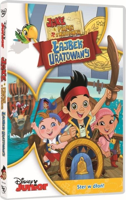 Jake i Piraci z Nibylandii Łajbek Uratowany