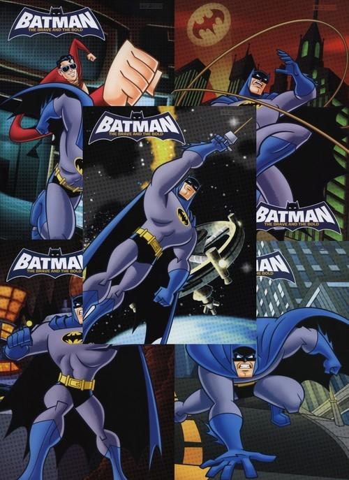 Zeszyt A5 Top-2000 w trzy linie 32 kartki Batman mix