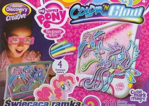 Świecąca ramka do projektowania My Little Pony (DD37106)