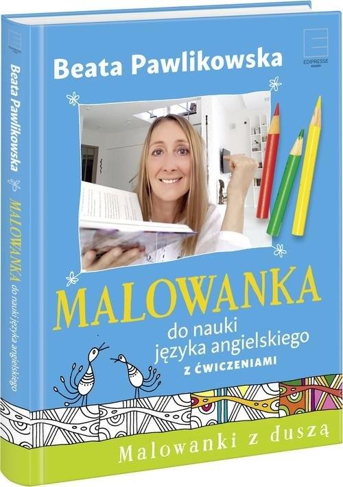Malowanka do nauki języka angielskiego z ćwiczeniami Pawlikowska Beata