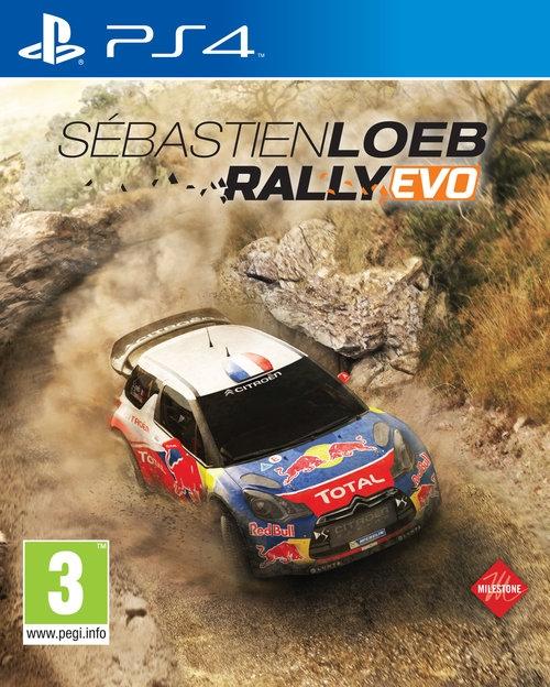 Sebastien Loeb Rally Evo Ps4