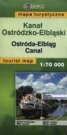 Kanał Ostródzko-Elbląski Mapa turystyczna 1:70 000