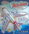 Samolocik Airbus ze światłem i dźwiękiem