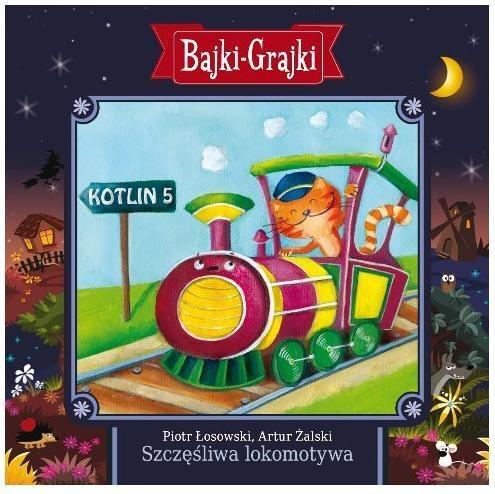 Bajki - Grajki. Szczęśliwa lokomotywa CD praca zbiorowa