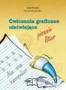 Ćwiczenia graficzne ułatwiające pisanie liter