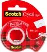 Taśma biurowa SCOTCH Crystal Clear (6-1975), transparentna, 19mm, 7,5m