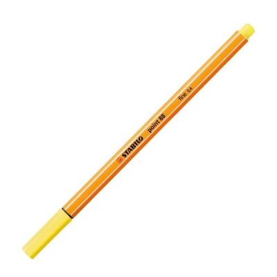 Cienkopis Stabilo cytrynowy żółty 88/24