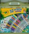 Mini markery Crayola w walizce 32 szt