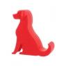Plastic Stand Piesek czerwony