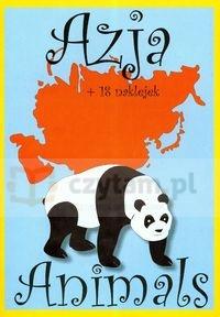Animals Azja + 18 naklejek