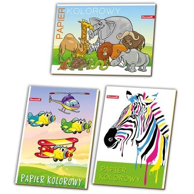 Zeszyty papierów kolorowych Dan-Mark A4/8k A4 DANMARK