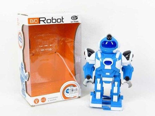 Robot chodzący 22 cm ze światłem i dźwiękiem