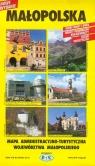 WojewództwoMałopolska Mapa administracyjno-turystyczna