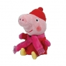 Beanie Babies Świnka Peppa - Peppa zimą 15 cm (TY 46206)