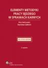 Elementy metodyki pracy sędziego w sprawach karnych Hofmański Piotr, Zabłocki Stanisław
