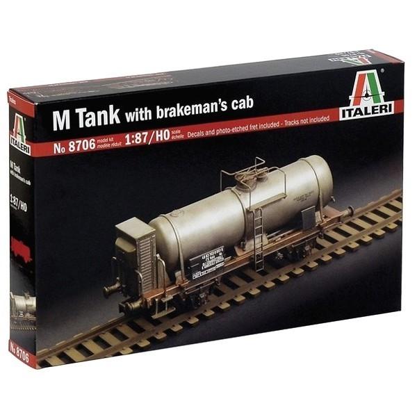 M Tank With Brakemans Cab