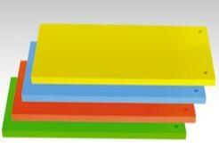 Przekładka czysta Protos 1/3 A4 niebieski op.50 szt 300g