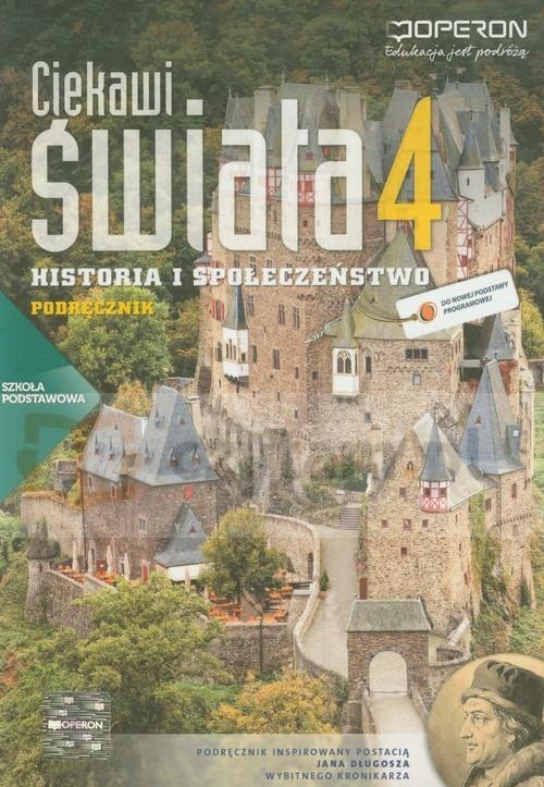 Ciekawi świata 4. Historia i społeczeństwo. Podręcznik + atlas Pacholska Maria, Zdziabek Wiesław