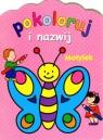 Motylek. Pokoloruj i nazwij Anna Wiśniewska, Sylvie Michelet, J.R. Deseigne