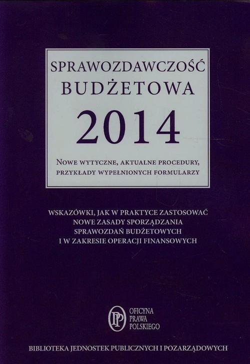 Sprawozdawczość budżetowa 2014 Jarosz Barbara