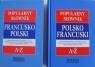 Popularny słownik polsko-francuski francusko-polski