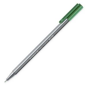 Cienkopis Triplus Fineliner 0,3 mm - zielony (334-5)