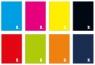 Brulion w kratkę A5, 96 kartek, kolekcja - One Color