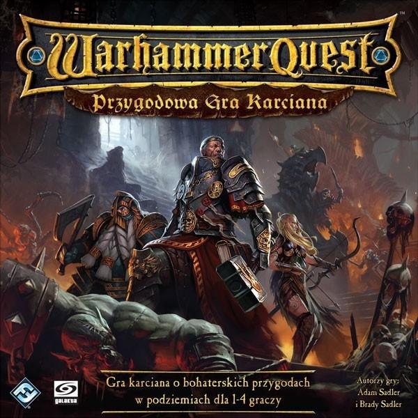 Warhammer Quest Przygodowa Gra karciana