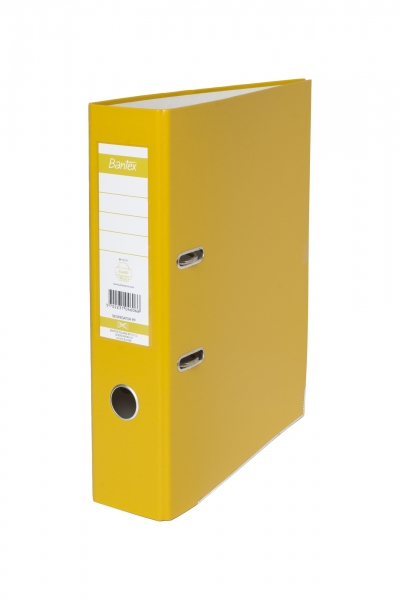 Segregator A4 80 mm, żółty