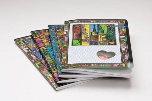 Zeszyt A5 w linie 60 kartek mix