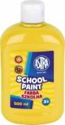 Farba plaktowa szkolna żółta 0.5l (sww2883-210)